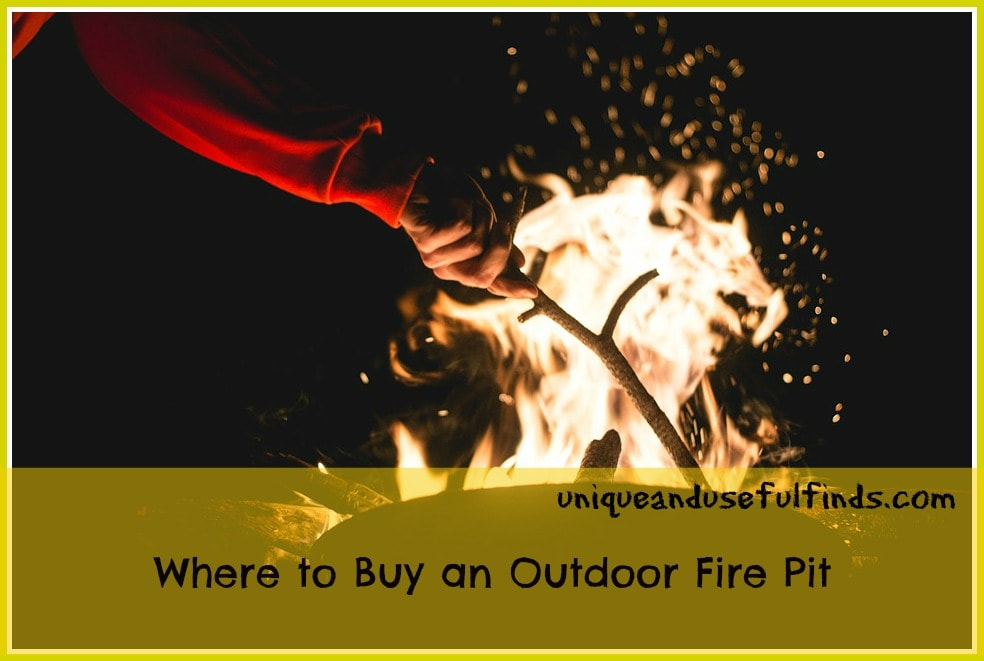 Where to buy an outdoor fire pit unique and useful finds for Buy outdoor fire pit